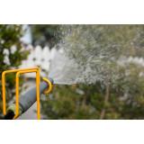 Garden Hose Holder - Yellow