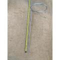 Flower Loop -155mm dia x 450mm height - Silver