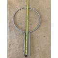 Pot Plant Trellis - 25cm Diameter silver