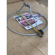 Rose Ring 450mm Diameter - Silver