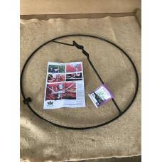 Rose Ring 670mm diameter - Satin black