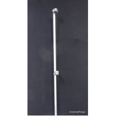 Ascot Standard Rose Stake - 2400mm Silver